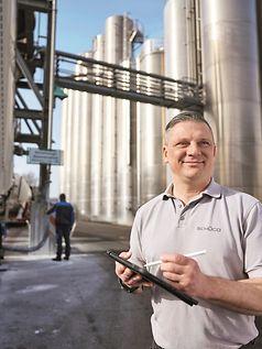 Lieferung PVC nach Weißenfels zu Schüco Polymer Technologies